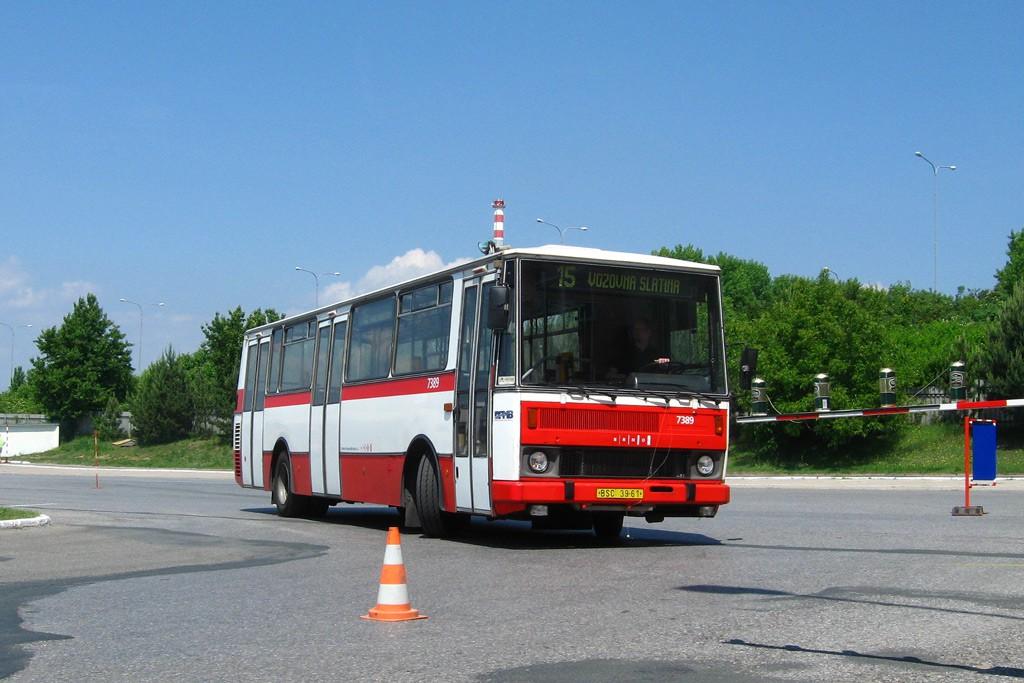 Fotogalerie » Karosa B732.1654.3 BSC 39-61 7389 | Brno | Slatina | Hviezdoslavova | Vozovna Slatina