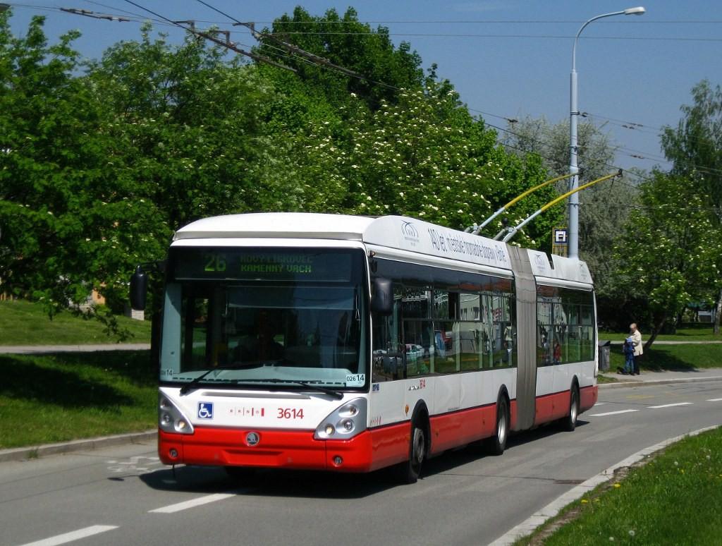 Fotogalerie » Škoda 25Tr Citelis 1B 3614 | Brno | Nový Lískovec | Petra Křivky