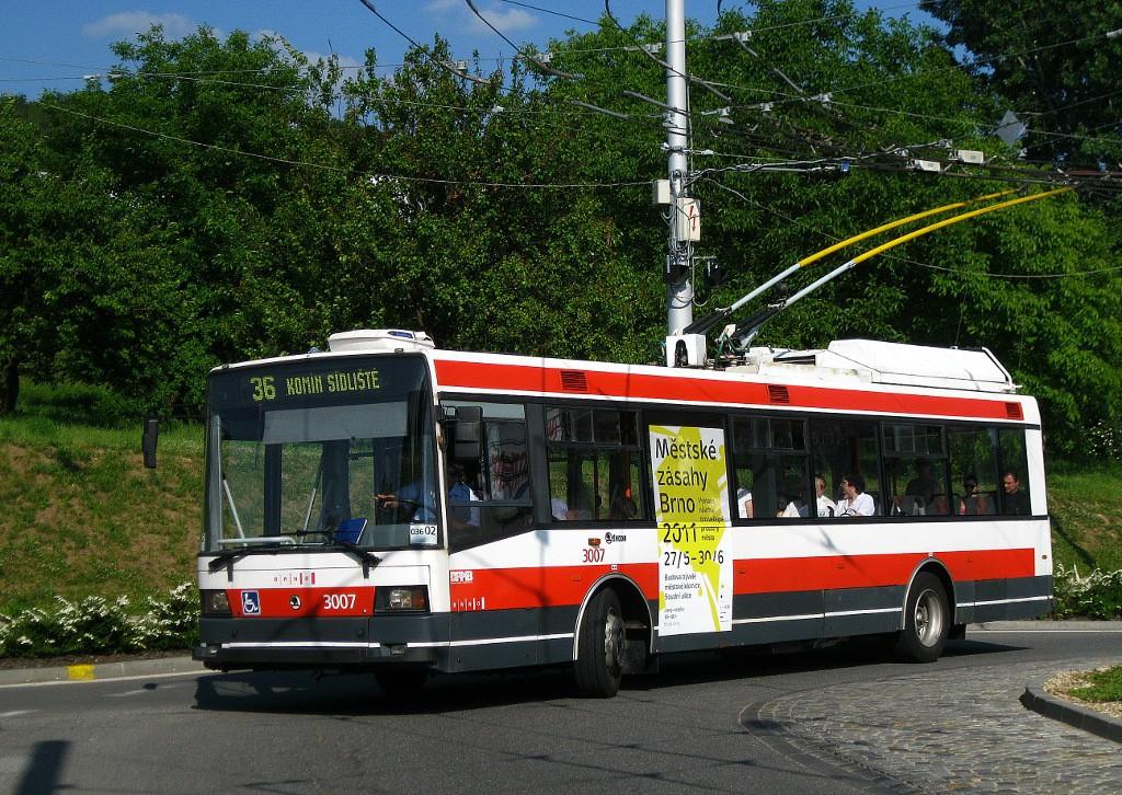 Fotogalerie » Škoda 21Tr 3007 | Brno | Komín | Hlavní