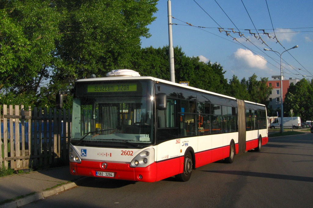 Fotogalerie » Irisbus Citelis 18M 5B2 3294 2602 | Brno | Slatina | Mikulčická | Slatina, sídliště