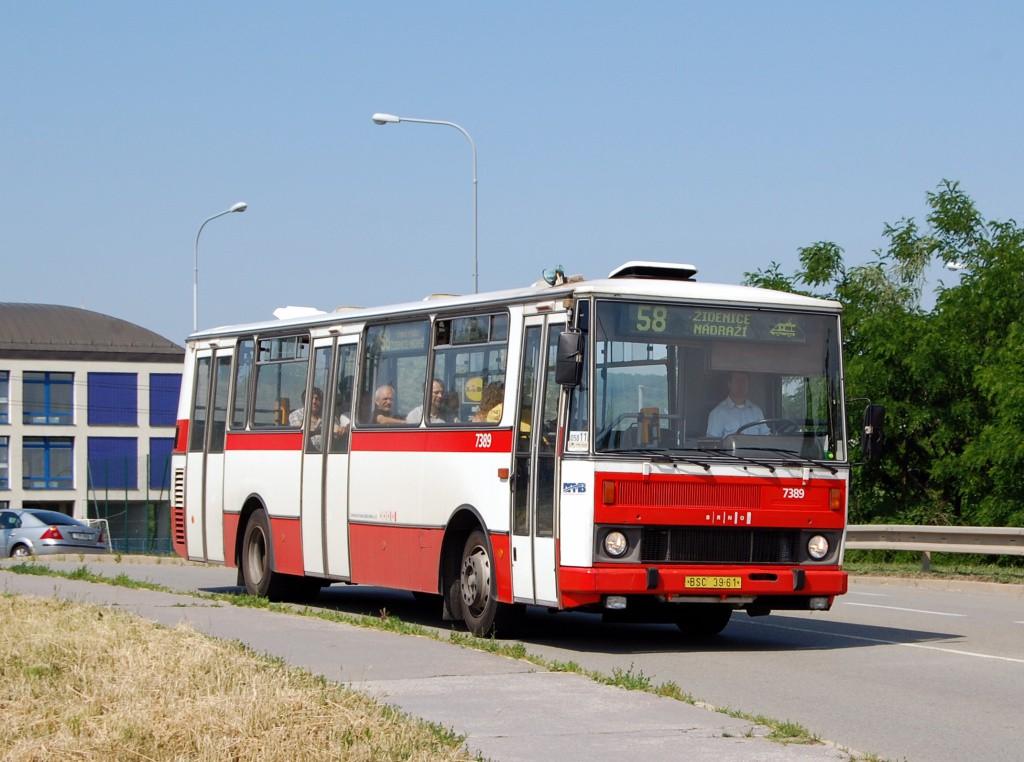 Fotogalerie » Karosa B732.1654.3 BSC 39-61 7389 | Brno | Líšeň | Křtinská