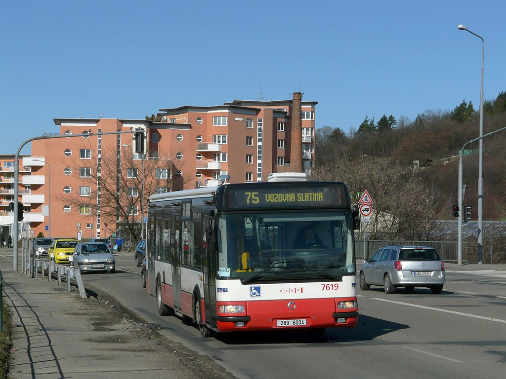 Fotogalerie » Irisbus Citybus 12M 2071.40 2B9 8004 7619 | Brno | Židenice | Bělohorská