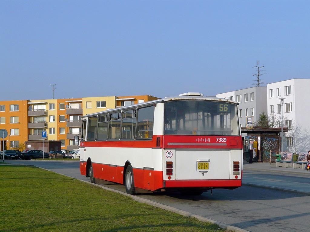Fotogalerie » Karosa B732.1654.3 BSC 39-61 7389 | Brno | Líšeň | Novolíšeňská | Jírova
