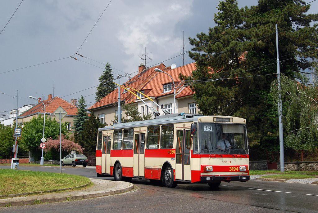 Fotogalerie » Škoda 14Tr07 3194 | Brno | Masarykova čtvrť | Barvičova | Kampelíkova