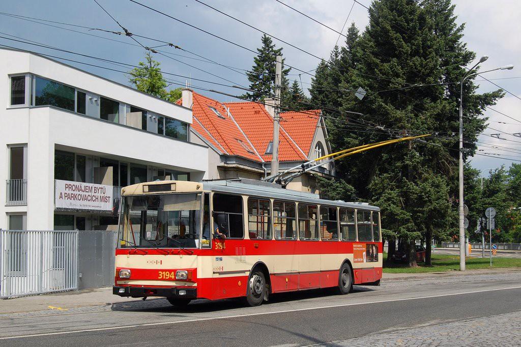 Fotogalerie » Škoda 14Tr07 3194 | Brno | Pisárky | Veslařská | Anthropos