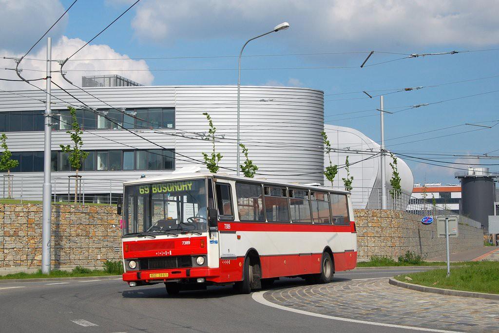 Fotogalerie » Karosa B732.1654.3 BSC 39-61 7389   Brno   Starý Lískovec   Netroufalky