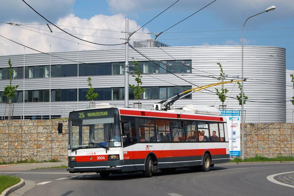 Fotogalerie » Škoda 21Tr 3004   Brno   Bohunice   Netroufalky