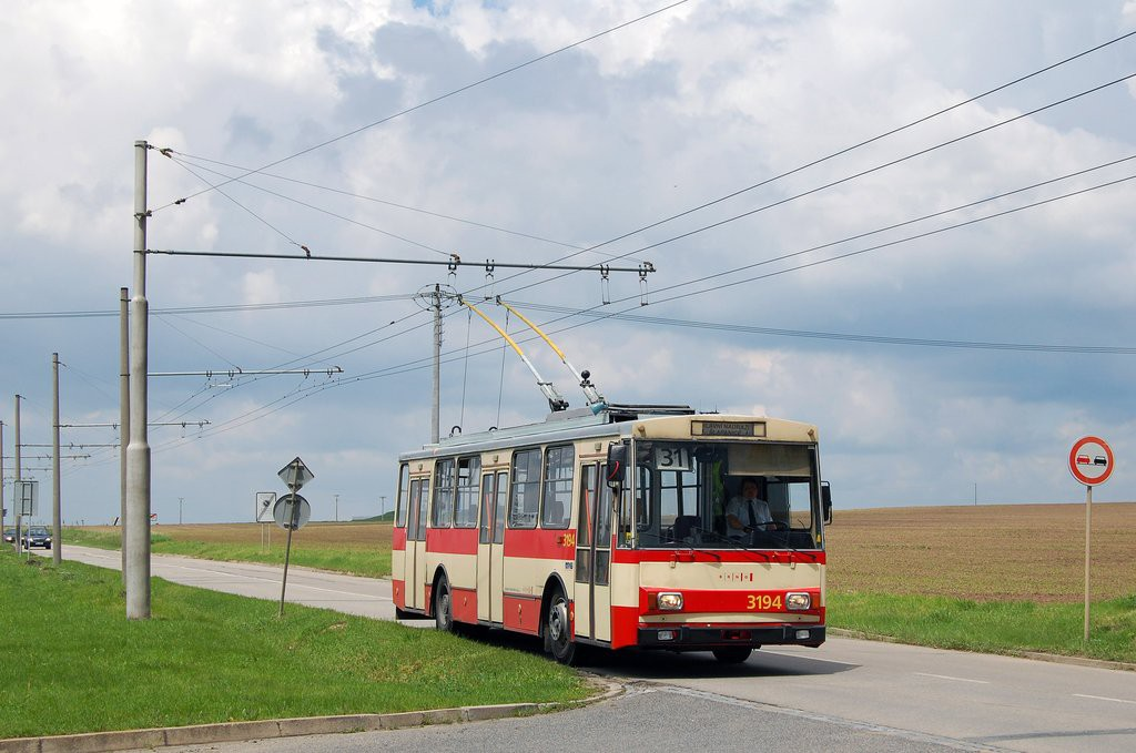 Fotogalerie » Škoda 14Tr07 3194 | Šlapanice | Brněnská