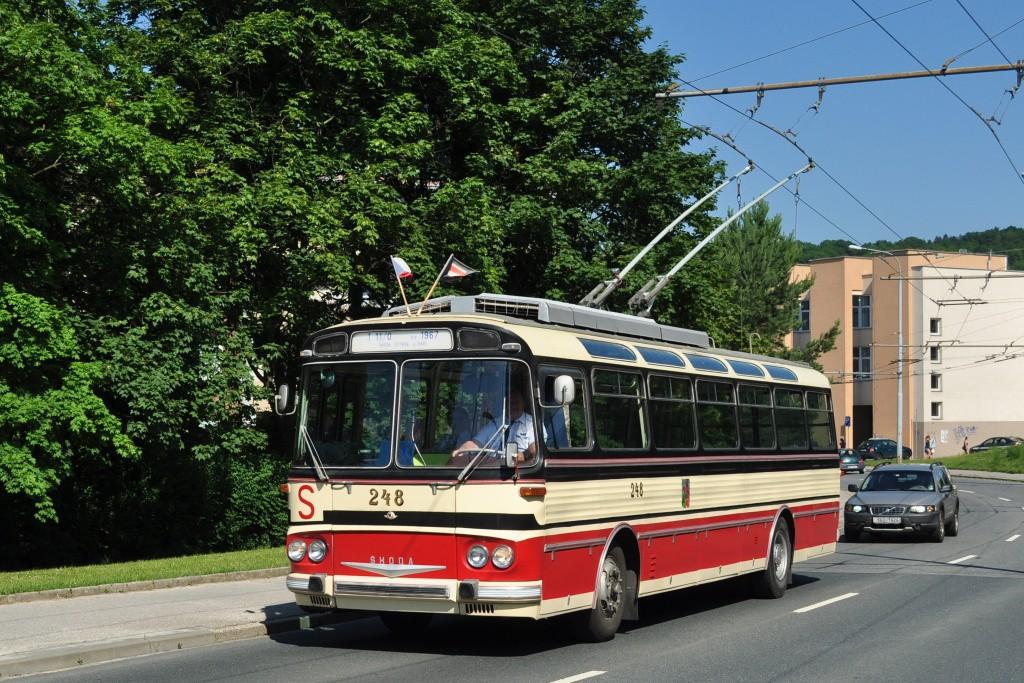 Fotogalerie » Škoda T11/0 248 | Brno | Žabovřesky | Korejská