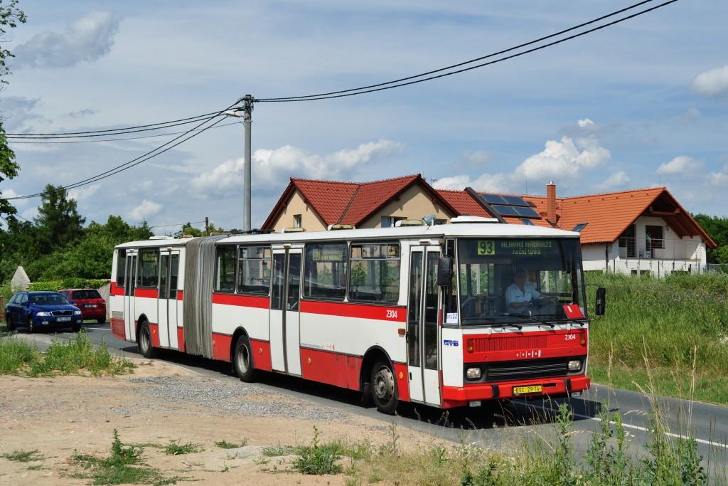 Fotogalerie » Karosa B741.1916 BSC 29-14 2304 | Brno | Sadová | Kociánka | Na kopcích