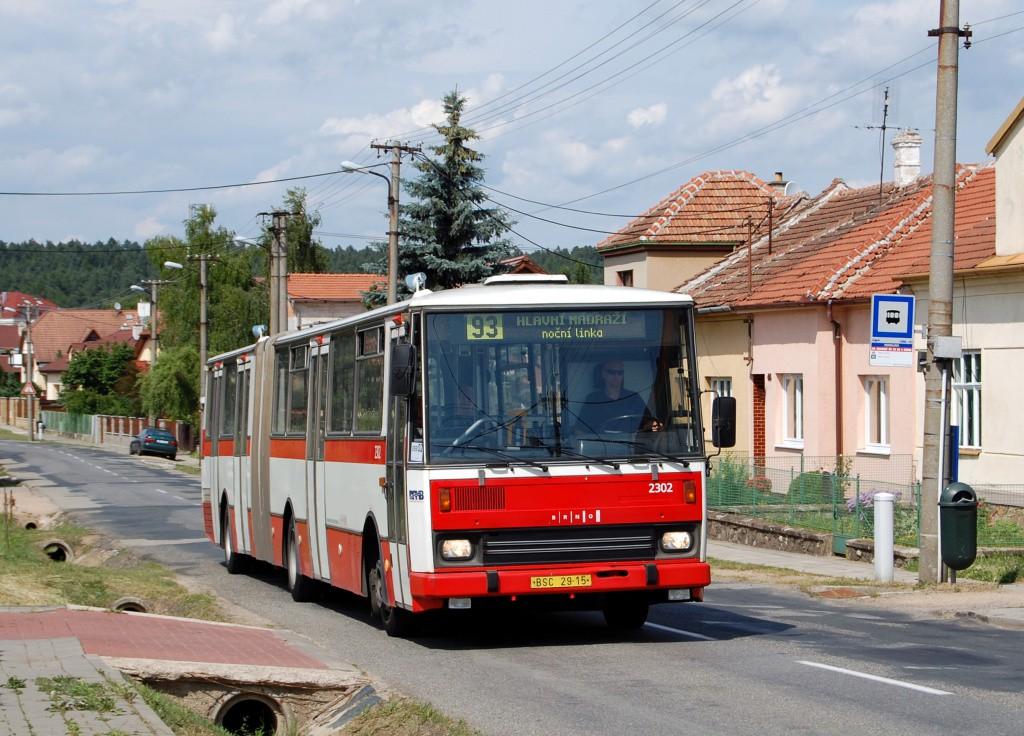 Fotogalerie » Karosa B741.1916 BSC 29-15 2302 | Brno | Soběšice | Útěchovská | Dohnalova