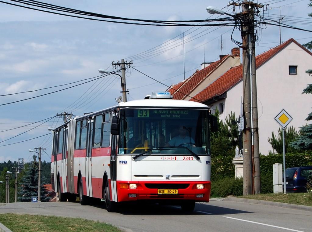 Fotogalerie » Karosa B941E.1962 BSE 90-41 2344 | Brno | Soběšice | Útěchovská