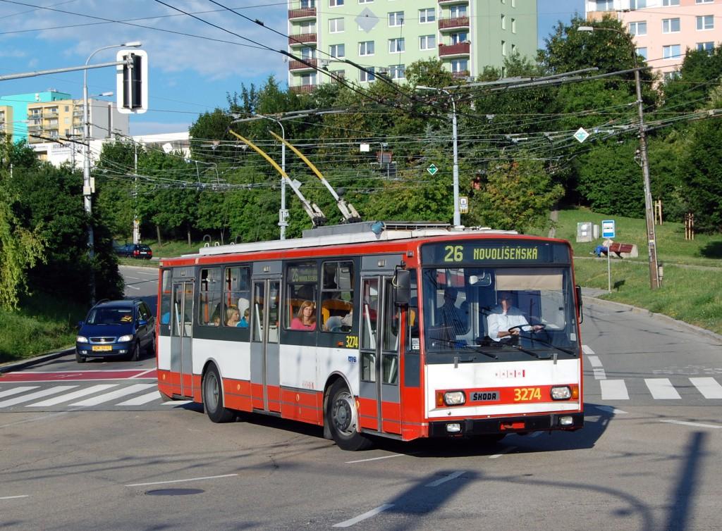Fotogalerie » Škoda 14Tr17/6M 3274 | Brno | Nový Lískovec | Petra Křivky