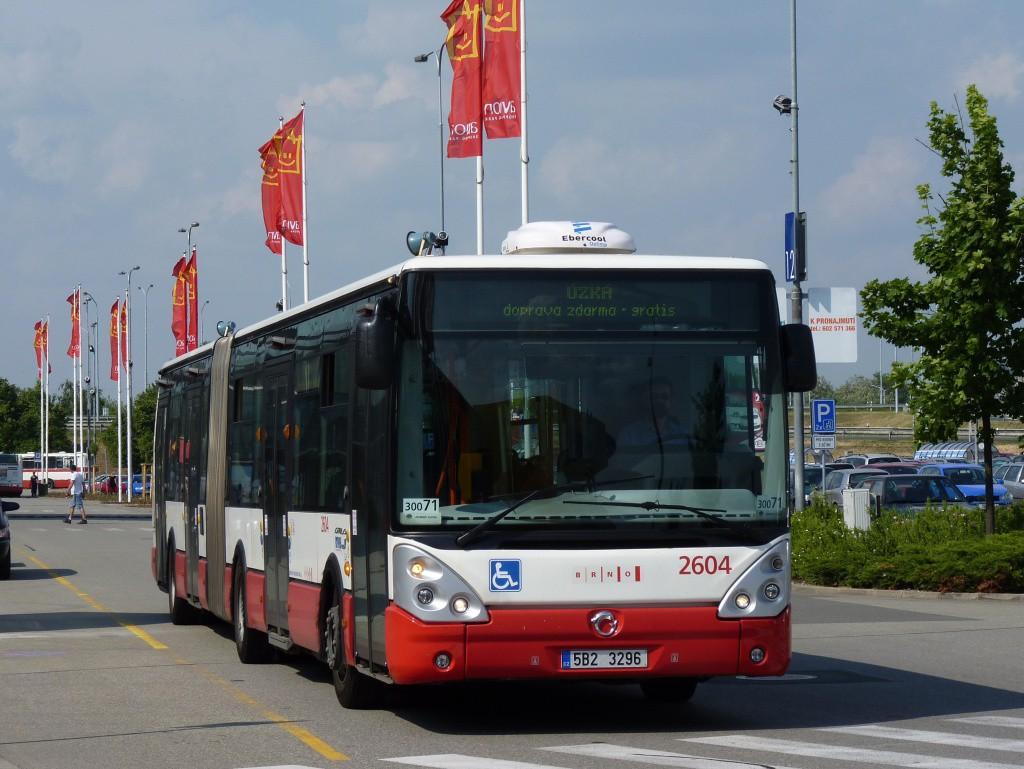 Fotogalerie » Irisbus Citelis 18M 5B2 3296 2604 | Brno | Dolní Heršpice | Skandinávská | Ikea