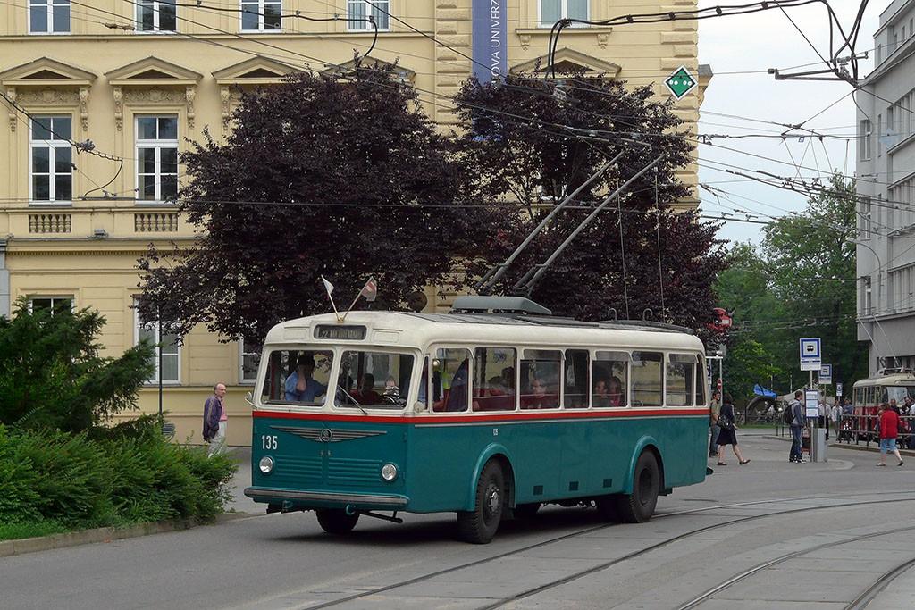Fotogalerie » Škoda 6Tr2 135 | Brno | střed | Žerotínovo náměstí