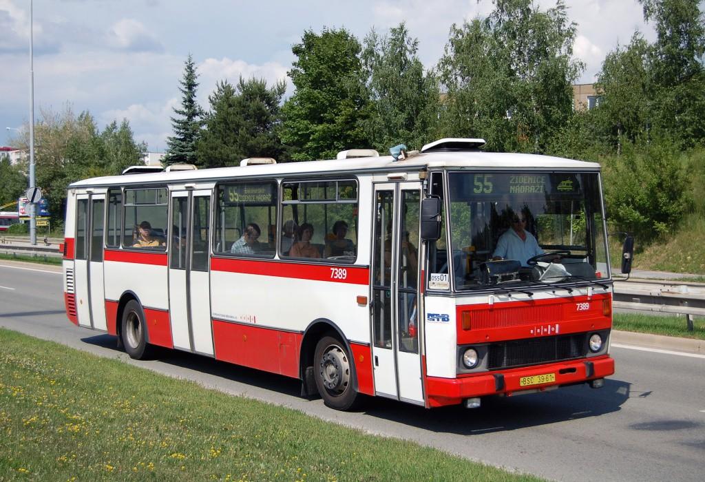 Fotogalerie » Karosa B732.1654.3 BSC 39-61 7389 | Brno | Líšeň | Jedovnická