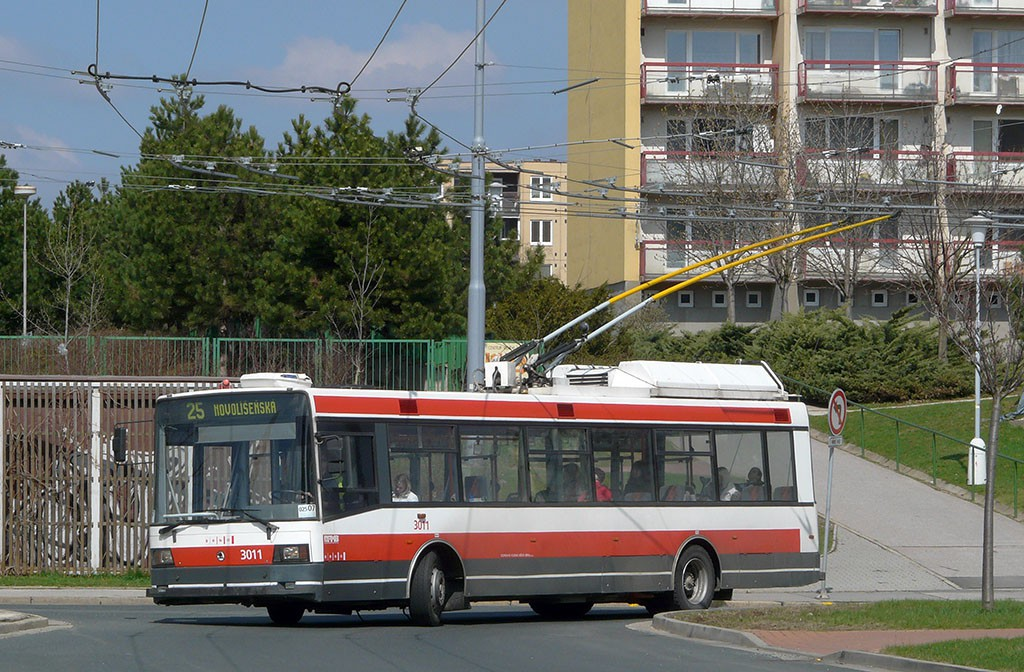 Fotogalerie » Škoda 21Tr 3011 | Brno | Vinohrady | Pálavské náměstí