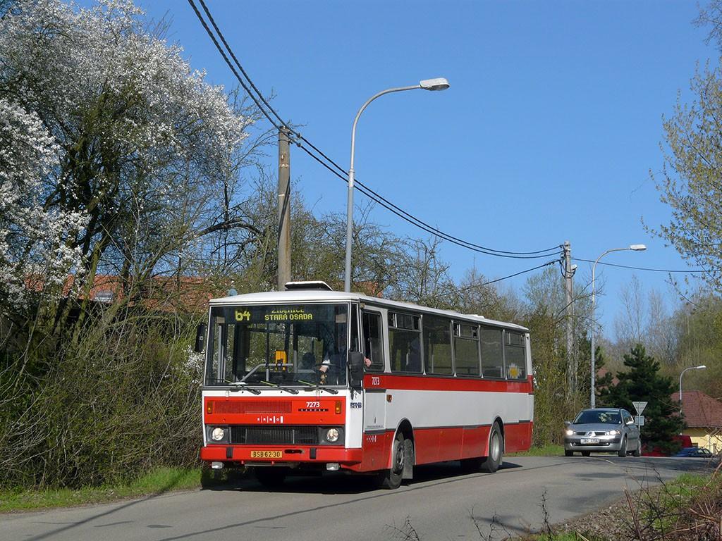 Fotogalerie » Karosa B732.40 BSB 62-30 7273 | Brno | Maloměřice | Zimní