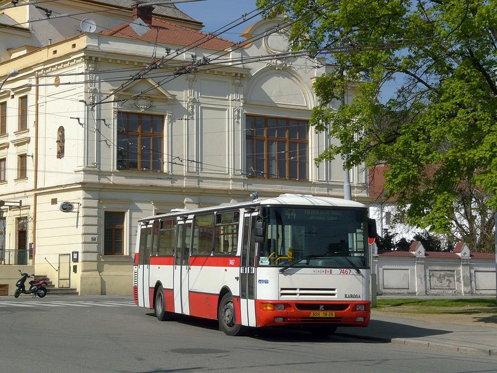 Fotogalerie » Karosa B931E.1707 BSH 16-29 7467   Brno   Staré Brno   Mendlovo náměstí   Mendlovo náměstí