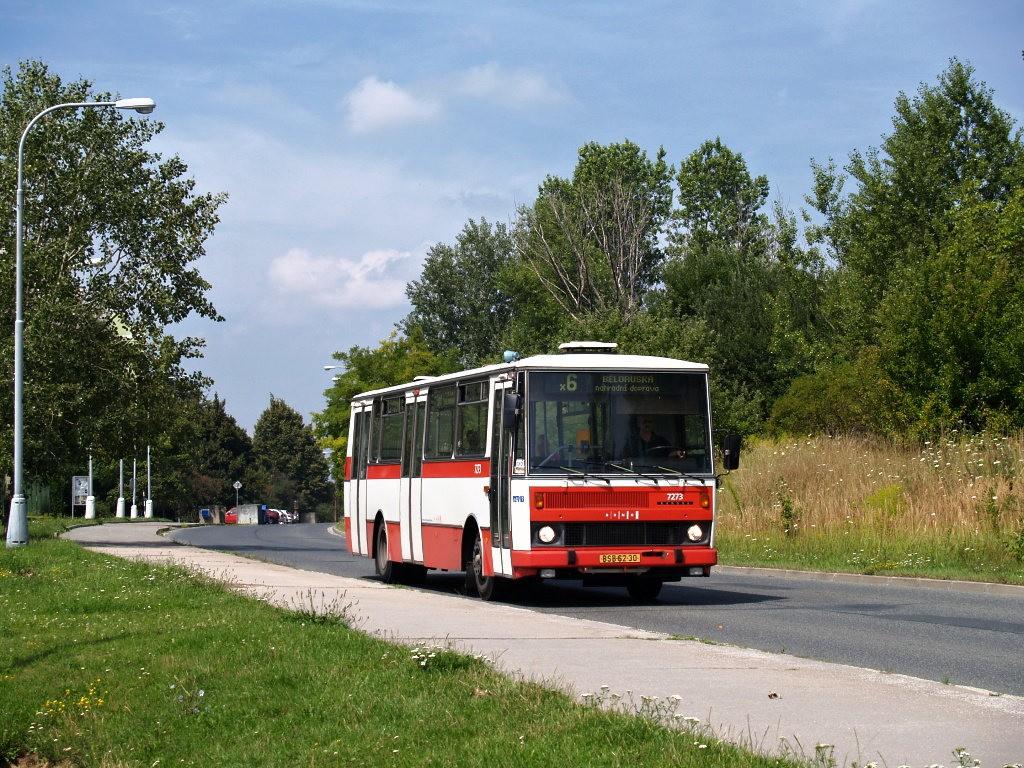Fotogalerie » Karosa B732.40 BSB 62-30 7273 | Brno | Starý Lískovec | Labská
