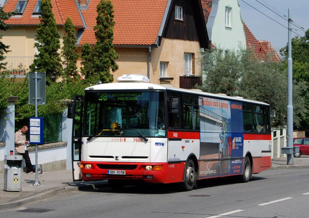 Fotogalerie » Karosa B951E.1713 3B9 8318 7488 | Brno | Masarykova čtvrť | Tvrdého | Žlutý kopec