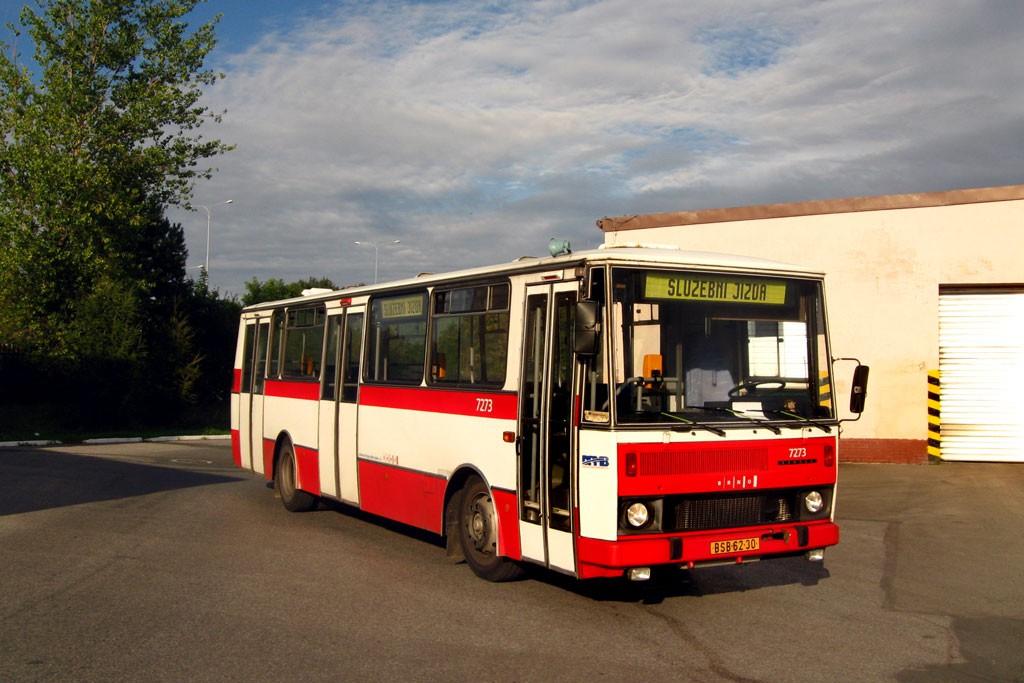 Fotogalerie » Karosa B732.40 BSB 62-30 7273 | Brno | Slatina | Hviezdoslavova | Vozovna Slatina | Vozovna Slatina