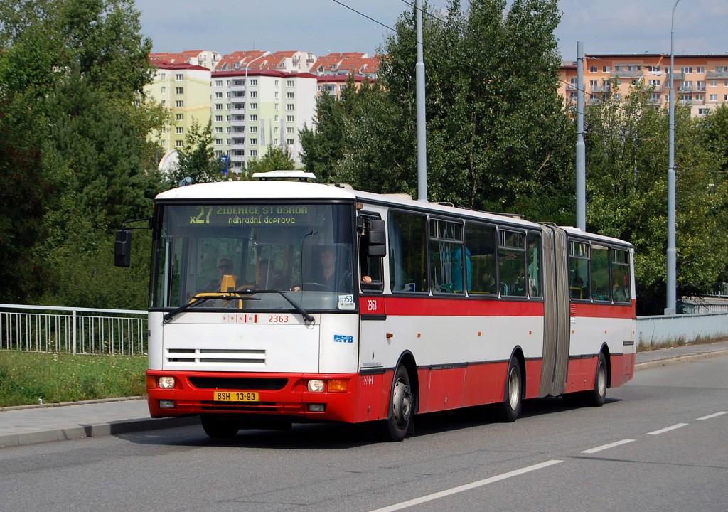 Fotogalerie » Karosa B941E.1962 BSH 13-93 2363 | Brno | Líšeň | Novolíšeňská