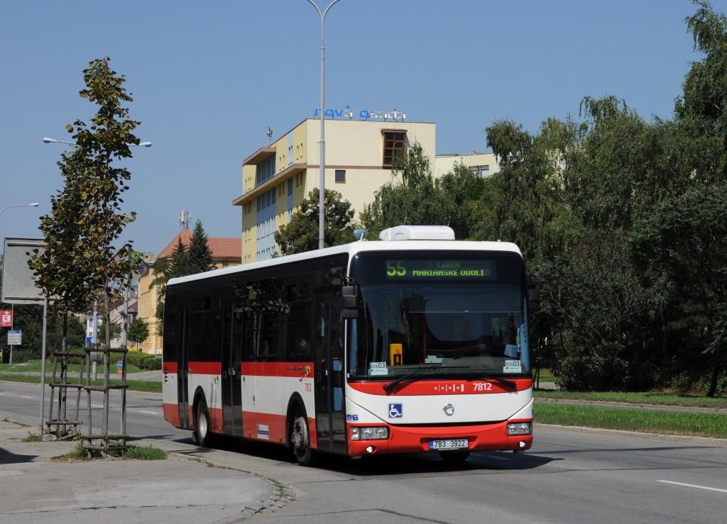 Fotogalerie » Irisbus Crossway LE 12M 7B3 3922 7812 | Brno | Židenice | Gajdošova