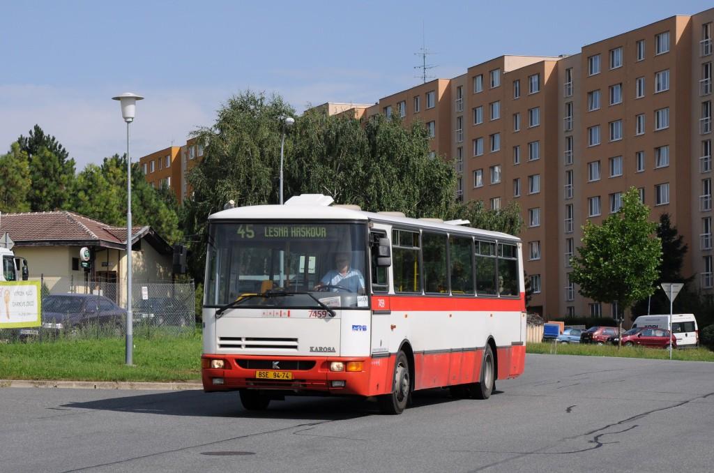 Fotogalerie » Karosa B931E.1707 BSE 94-74 7459 | Brno | Líšeň | Elplova