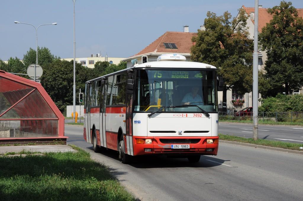Fotogalerie » Karosa B951E.1713 4B4 5963 7492 | Brno | Židenice | Gajdošova | Gajdošova