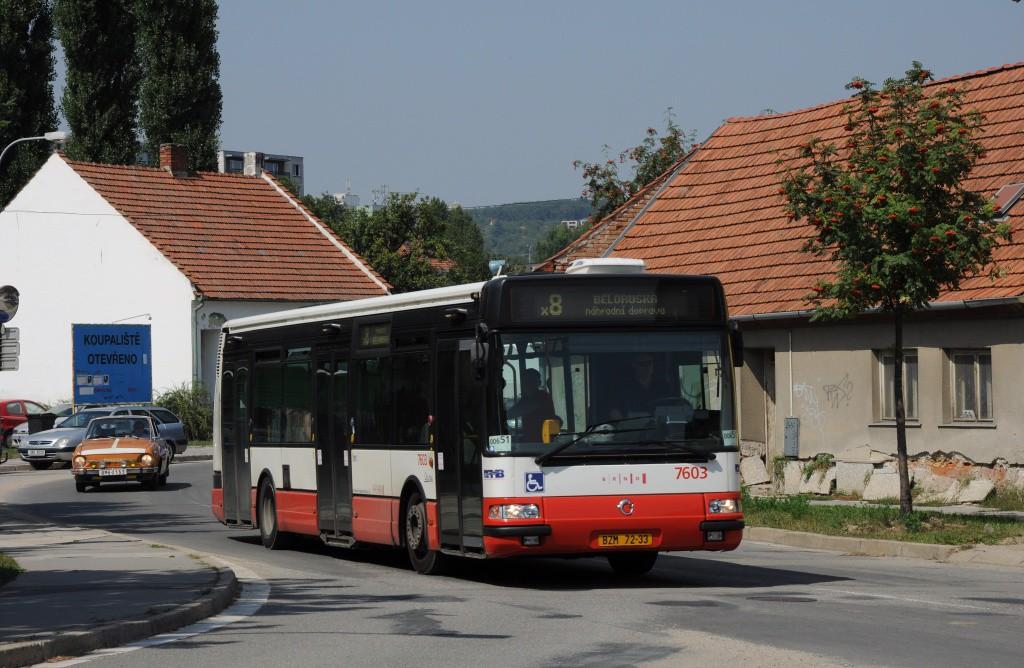 Fotogalerie » Irisbus Citybus 12M 2071.20 BZM 72-33 7603   Brno   Starý Lískovec   Klobásova