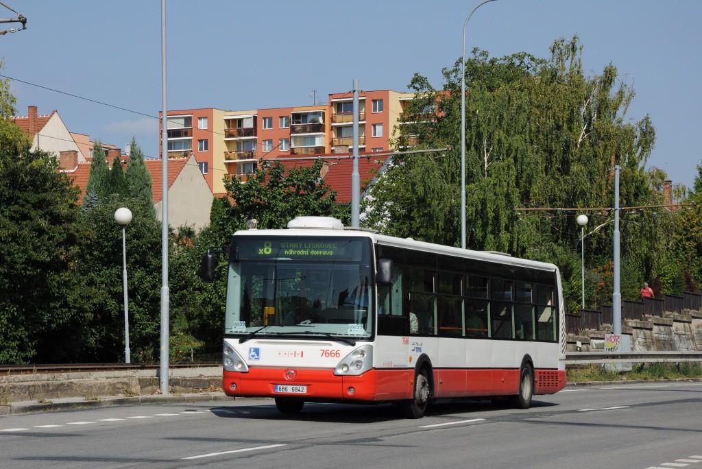 Fotogalerie » Irisbus Citelis 12M 6B6 6842 7666 | Brno | Bohunice | Dlouhá