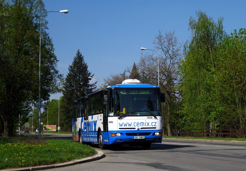 Fotogalerie » Karosa B951E.1713 4B4 5965 7490 | Brno | Lesná | Seifertova
