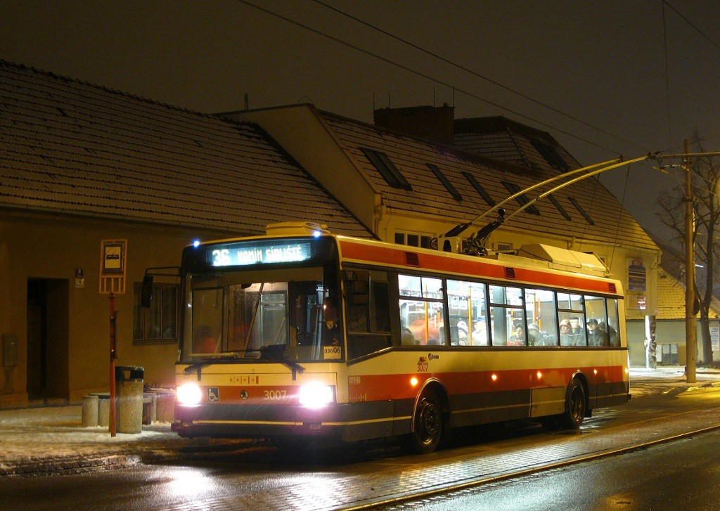 Fotogalerie » Škoda 21Tr 3007 | Brno | Komín | Kristenova | Kristenova