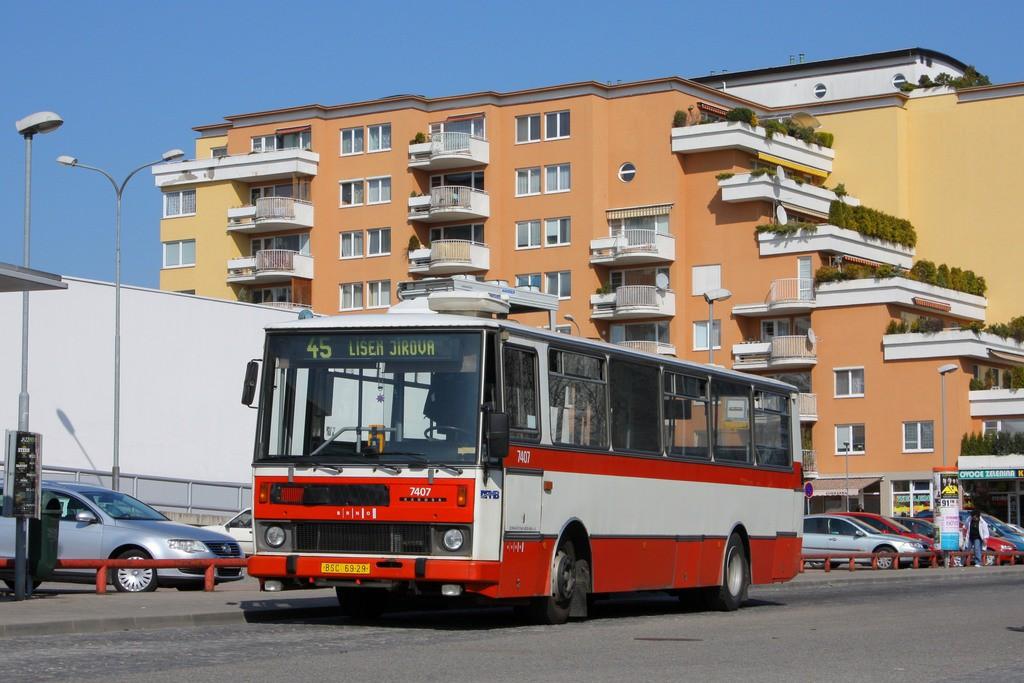 Fotogalerie » Karosa B731.1669 BSC 69-29 7407 | Brno | Lesná | Haškova