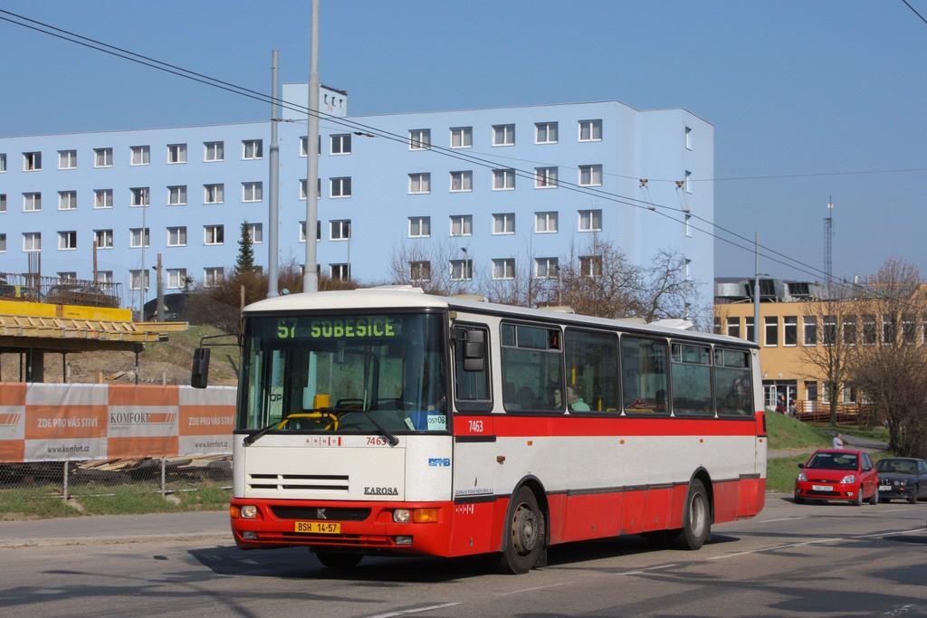 Fotogalerie » Karosa B931E.1707 BSH 14-57 7463 | Brno | Husovice | Provazníkova