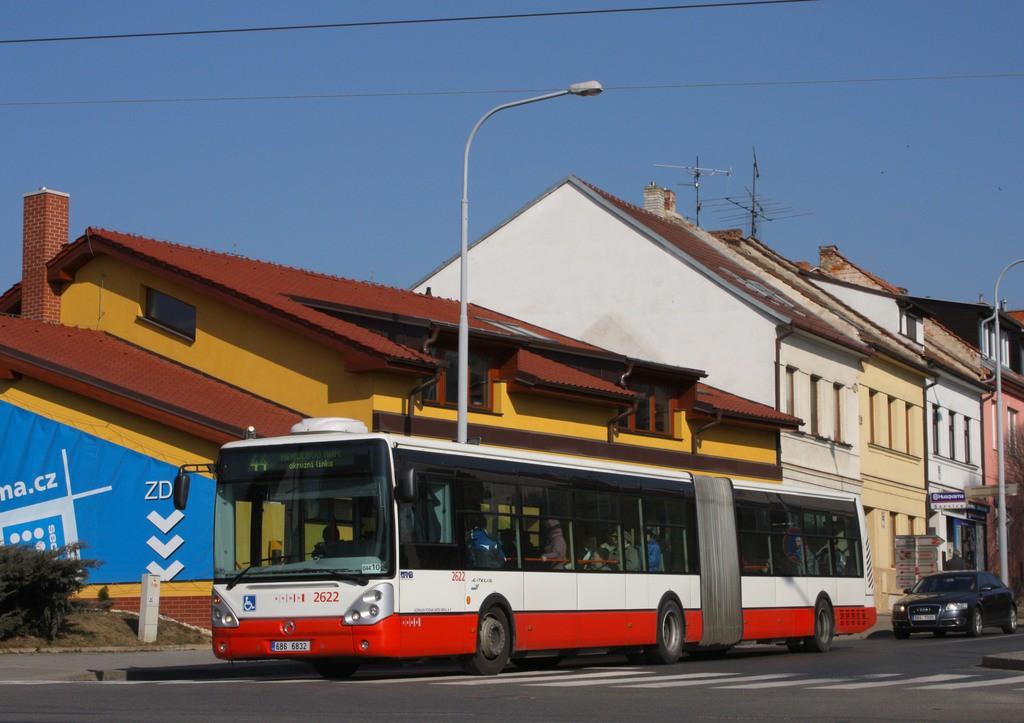 Fotogalerie » Irisbus Citelis 18M 6B6 6832 2622 | Brno | Žabovřesky | Královopolská