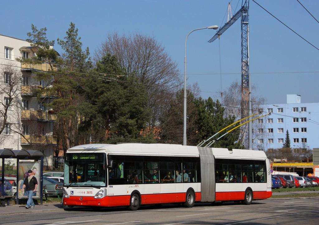Fotogalerie » Škoda 25Tr Citelis 1B 3615 | Brno | Černá Pole | Provazníkova | Merhautova
