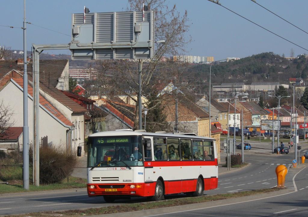 Fotogalerie » Karosa B931E.1707 BSH 16-29 7467 | Brno | Husovice | Provazníkova