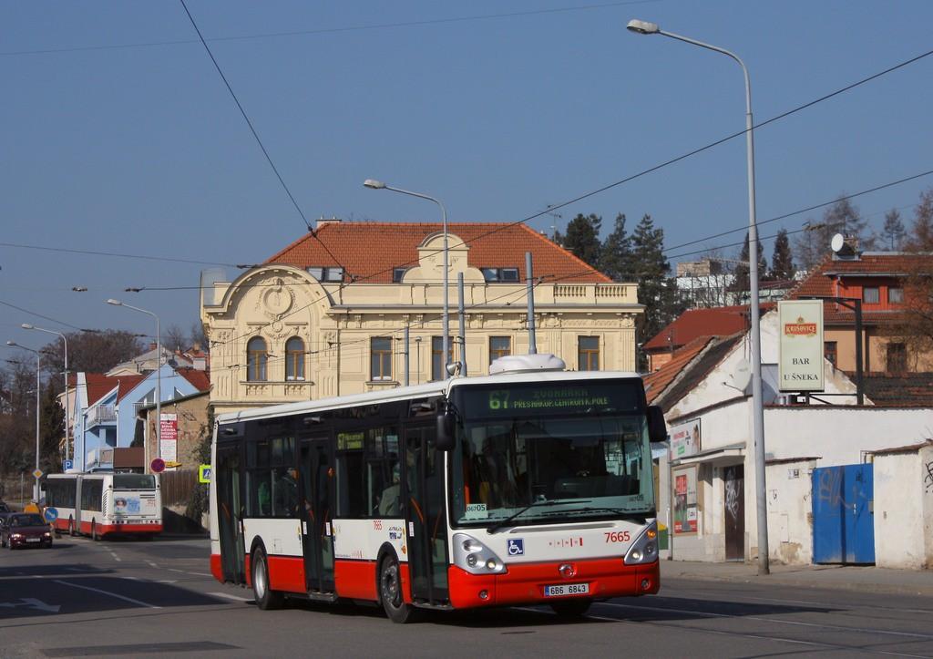 Fotogalerie » Irisbus Citelis 12M 6B6 6843 7665 | Brno | Žabovřesky | Rosického náměstí