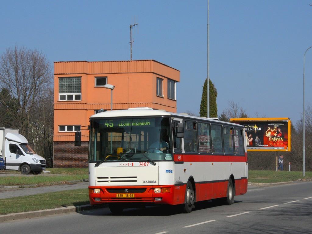 Fotogalerie » Karosa B931E.1707 BSH 16-29 7467 | Brno | Lesná | Okružní
