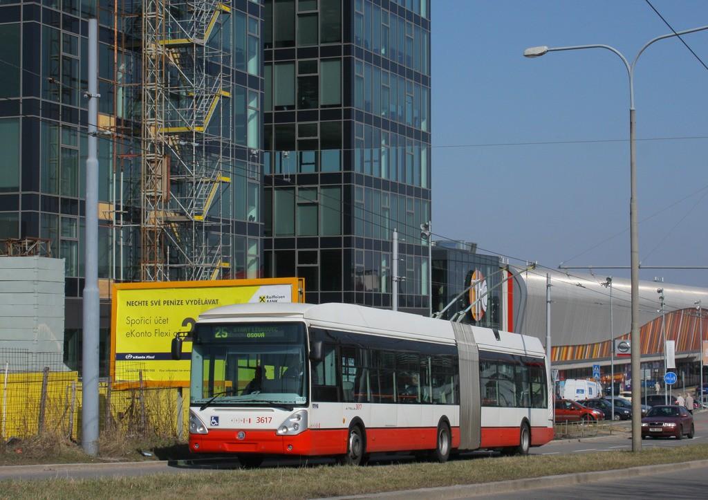 Fotogalerie » Škoda 25Tr Citelis 1B 3617 | Brno | Bohunice | Netroufalky