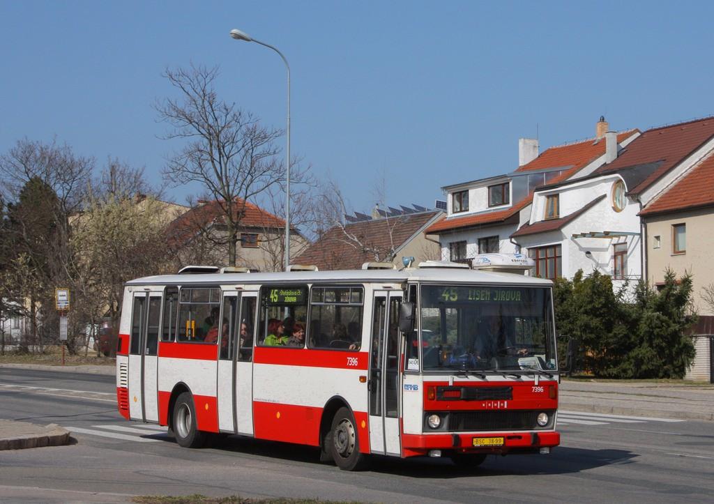 Fotogalerie » Karosa B732.1654.3 BSC 38-99 7396 | Brno | Lesná | Seifertova