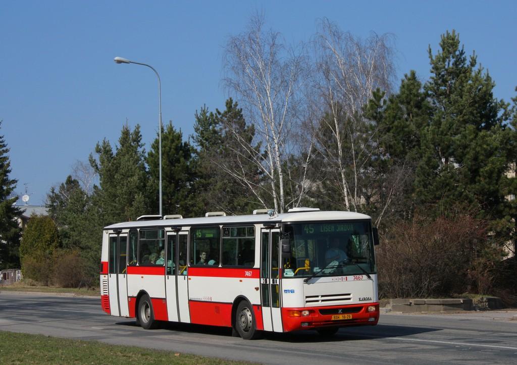 Fotogalerie » Karosa B931E.1707 BSH 16-29 7467   Brno   Lesná   Seifertova