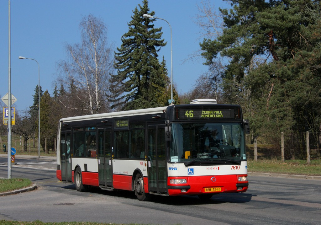 Fotogalerie » Irisbus Citybus 12M 2071.20 BZM 72-40 7610 | Brno | Lesná | Seifertova