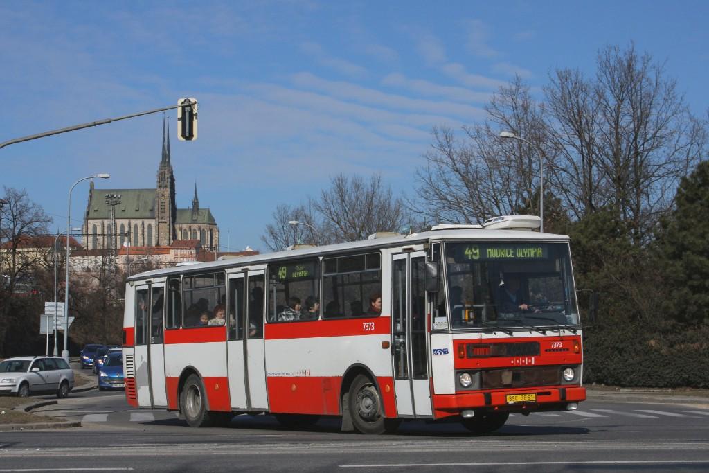 Fotogalerie » Karosa B732.1654.3 BSC 38-61 7373 | Brno | Trnitá | Uhelná