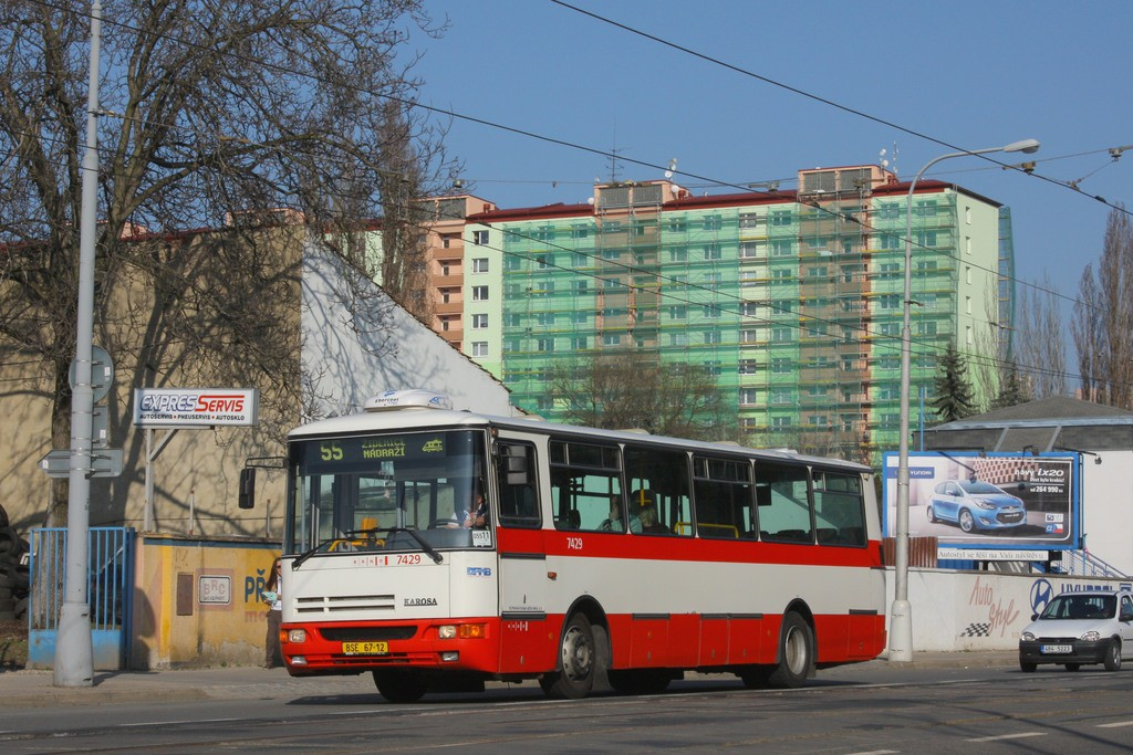 Fotogalerie » Karosa B931.1675 BSE 67-12 7429 | Brno | Židenice | Bubeníčkova