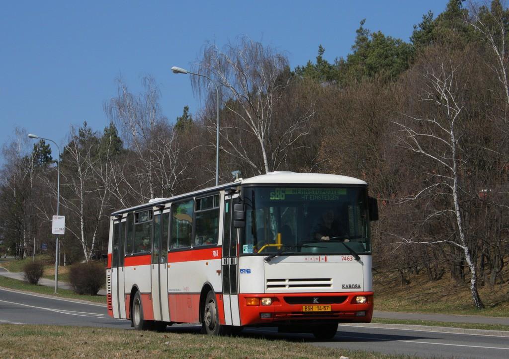 Fotogalerie » Karosa B931E.1707 BSH 14-57 7463 | Brno | Lesná | Okružní