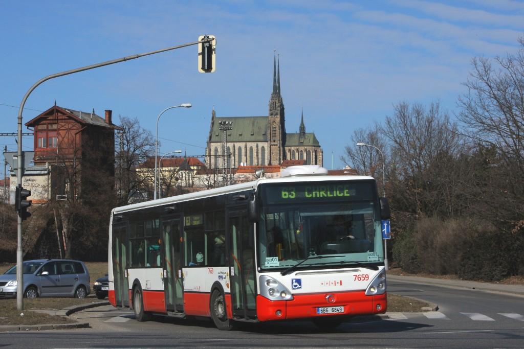 Fotogalerie » Irisbus Citelis 12M 6B6 6849 7659 | Brno | Trnitá | Uhelná