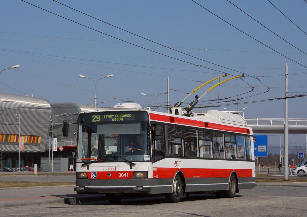 Fotogalerie » Škoda 21TrIGCT 3041 | Brno | Bohunice | Netroufalky | Nemocnice Bohunice
